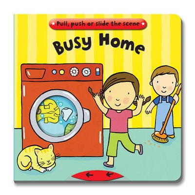 Book cover for Busy Books: Busy Home